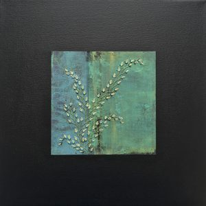 Picture of mixed media painting Daydream No. 3 by artist Heather Elliott