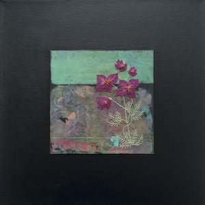 Picture of mixed media painting Daydream No. 4 by artist Heather Elliott