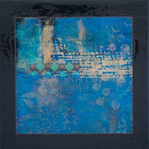 Peace and Joy No. 1 Mixed Media Painting by Heather Elliott